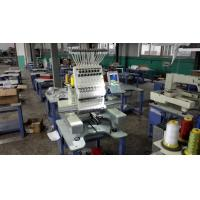 China 110V - 220V 1 Head Commercial Embroidery Machine , 12 Needle Embroidery Machine 540 x 375mm on sale