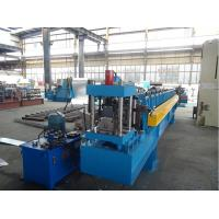 Cold Roll C Purlin Forming Machine for upright structure with 2 holes