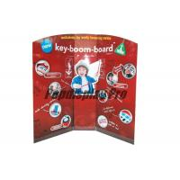 Early Learning Musical Instruments Custom Standee Cardboard Point Of Sale Display Stands Manufactures