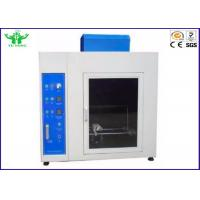 China Material Burning Horizontal Flammability Tester , 220v Needle Flame Test Apparatus on sale
