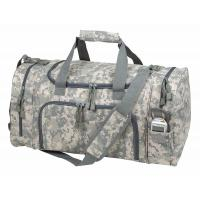 Waterproof Duffel Bag , Womens Mens Duffle Bags With Shoe Compartment Manufactures