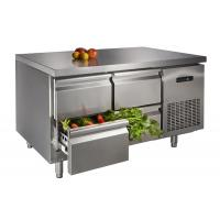 Stainless Steel Table Top Freezer , Four Drawer Commercial Undercounter Refrigerator Manufactures
