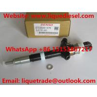Quality DENSO common rail injector 095000-0750, 095000-0751 , 9709500-075 for TOYOTA 23670-30020, 23670-39025 for sale