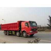 30CBM Heavy Dump Truck For Construction 8x4 Driving Type WD615.47 Engine Manufactures