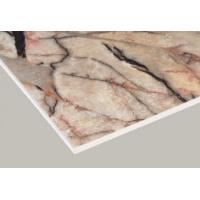 China Marble Surface Interior Fiber Cement Board , High Strength Cement Fibre Sheet on sale