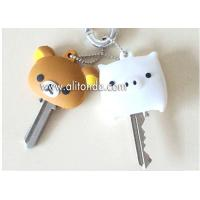 High quality low price environmental PVC key covers for children promotional gifts Manufactures