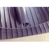 Strong Welding Wedge Wire Screen Panels Non - Clogging High Flow Rates Manufactures