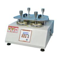 China Footwear Textile Testing Equipment Martindale Abrasion And Pilling Tester With 4 Heads on sale