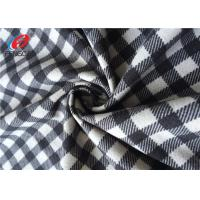 China Warp Knitted Imitation Cotton Fabric Polyester Velvet Fabric For Garment on sale