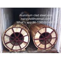 High Conductivity Aluminum Clad Steel Wire For Electric Transmission Line Manufactures