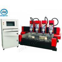 Large Format Stone CNC Router Machine For 3D Stone Metal Carving With 4 Spindles Manufactures