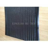 China PVC Machine Protection Fabric Expansion Joint Covers / Connection Black Color on sale