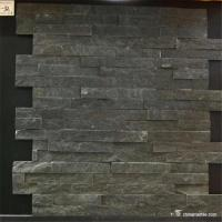 Chinamarble , Black Slate Stone Wall Cladding,6×24 (150×600mm),6×22 (150×550mm) Manufactures