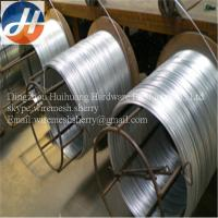 factory price hot sale zinc process galvanized iron wire Manufactures