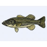 Embroidery fish Free quote a design quickly306 for Baseball caps and hats Manufactures