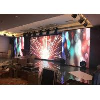 PH2.5 Indoor LED Display Signs Real Natural Color H 192 X H 192 Mm Manufactures