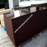 China Two times hot pressed film faced plywood, Marine shuttering film faced plywood, Construction shuttering plywood on sale