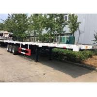 China Steel Three Axle 12R22.5 Shipping Container Trailer on sale