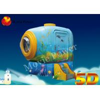 China Forward / Backward 2 Seats 5D Cinema System With Electric System on sale