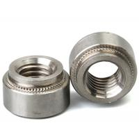 Stainless Steel Aluminum Blind Rivets Nuts Insert Round Head , Self Clinch Nuts For Sheet Metal Manufactures