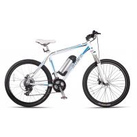 AOWA Motorized Mountain Bike Electric Blue Off Road Electric Mountain Bike Manufactures