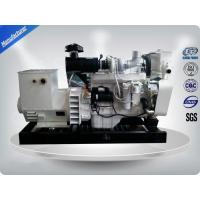 40kw-176kw 4 Wires Marine Generator Set With DC24V Electrical Starting Manufactures