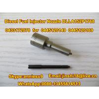 Diesel Common Rail Injector Nozzle DLLA152P1768, 0433172078 for 0445120149, 0445120169 Manufactures