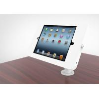 360 Degree Rotatable Ipad Kiosk Holder Rugged Metal Flexible Goose Neck Powder Coated Manufactures