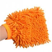 China microfiber/chenille car cleaning gloves on sale