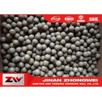 Mining use high hardness hot rolling grinding steel balls / ball mill media Manufactures