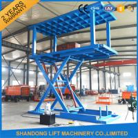 China Hydraulic Portable Double Deck Car Parking System for Home Garage Car Lift on sale