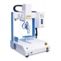 Four Axis Automatic Soldering Machine Φ0.3-1.6 mm Tin Thread For Circuit Boards