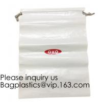 Compostable, Biodegradable Laundry Bags Hospitality Travel Shoe Bags Non-Woven