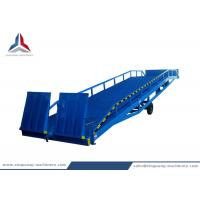China 10 Tons Container Mobile Loading Hydraulic Dock Ramp for Warehouse on sale