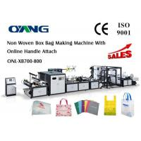 China Muti - Functional Automatic Non Woven Rice Bag Making Machine , CE on sale
