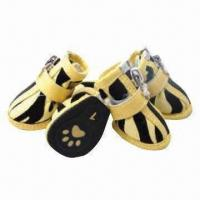 Pet shoes, suitable for dog, available in various types and manifold sizes Manufactures
