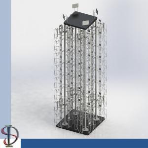 China DVD Display Rack / Greating Cards Spinner / Wire Pocket Display Rack / Magazine Metal Display Stand / Books Rack / on sale