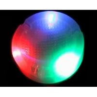 China Red, Yellow, Blue, Green Fire Proof PC LED Flashing Ashtray For Hotel, Bar, KTV SR-LB49 on sale