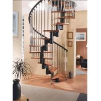 Rustproof Cast Iron Stair Railing For Spiral Staircase / Straight Staircase Manufactures