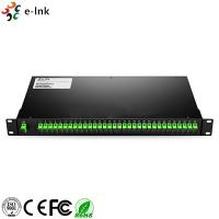 Customized Rack Mount Fiber Optic Switch LC/SC/ST/FC UPC/APC 1260~1650nm Bandwidth Manufactures