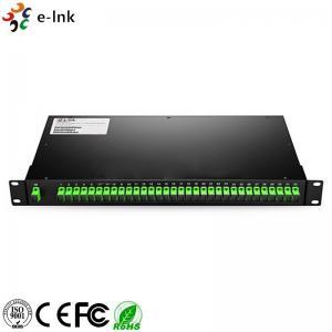Customized Rack Mount Fiber Optic Switch LC/SC/ST/FC UPC/APC 1260~1650nm Bandwidth Manufactures