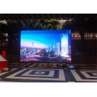Quality SMD3535 3 In 1 Full Color Led Display Module P16mm Nationstar / Epstar Led Chip for sale