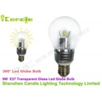 High Efficiency Conversion 9w LED Globe Bulb With E27 Socket 3years warranty Manufactures