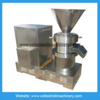 Stainless Steel Peanut Butter Colloid Mill Machine / Equipment /Nut Grinding Machine Manufactures