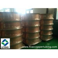 Refrigeration Copper Compression Fittings , M1 UL94 Pancake Coil Copper Tube Manufactures