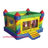 inflatable 0.55mm pvc tarpaulin jumping castle BO079 Manufactures