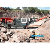 Portable  Mobile Rock Crusher Energy Saving Simple Structure For Aggregate Making for sale