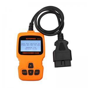 China OBDURATE OM123 Orange OBDII Code Reader check engine , 12V DC Voltage on sale