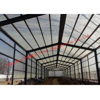Prefabricated Steel Structure Poultry Farming Shed For Chicken Farm Building And Cattle Farm Building Manufactures