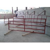 Quality Welded Wire Mesh Steel Farm Gates Strong Low Carbon Steel Material for sale